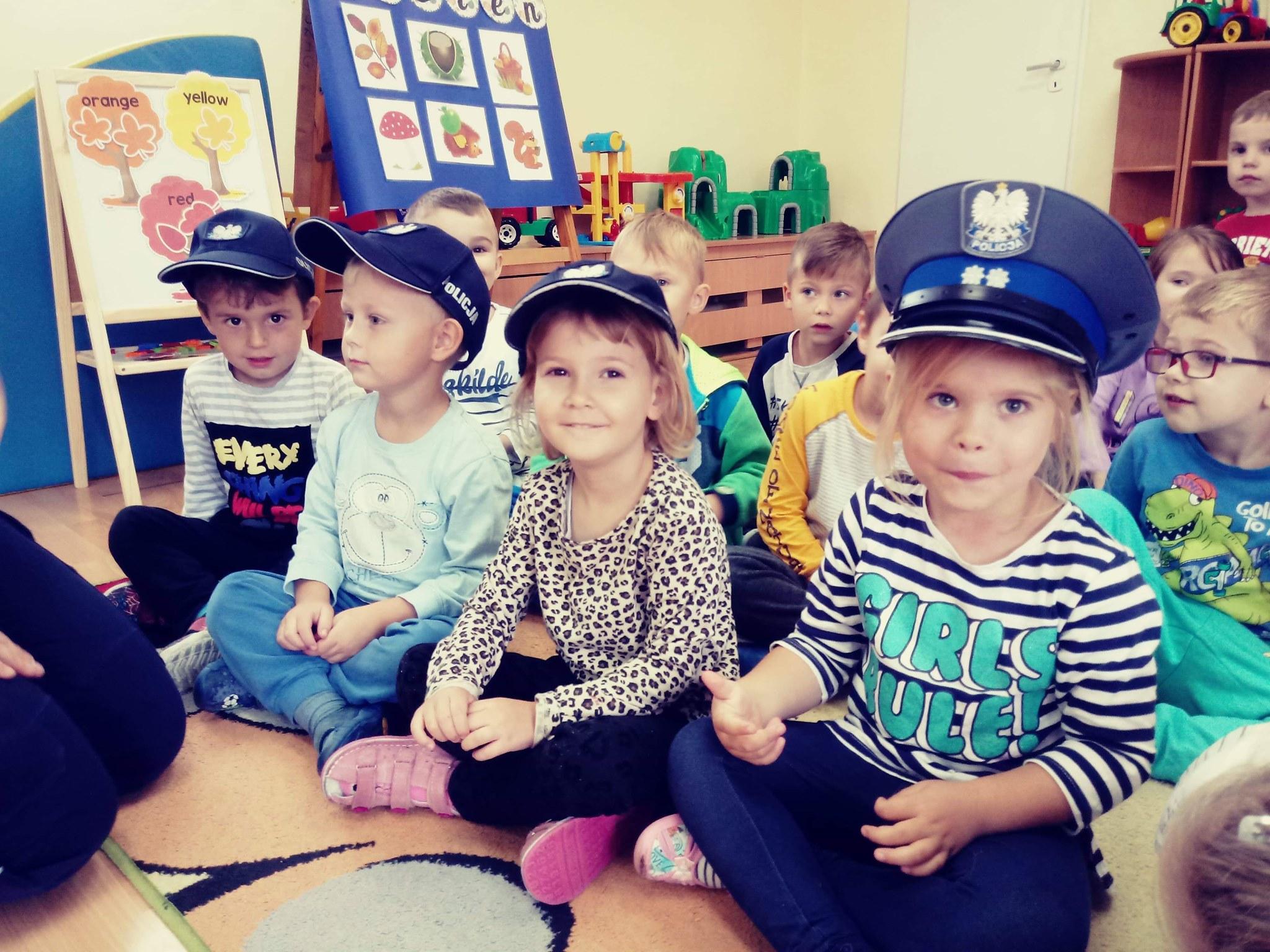 Panie Policjantki w przedszkolu